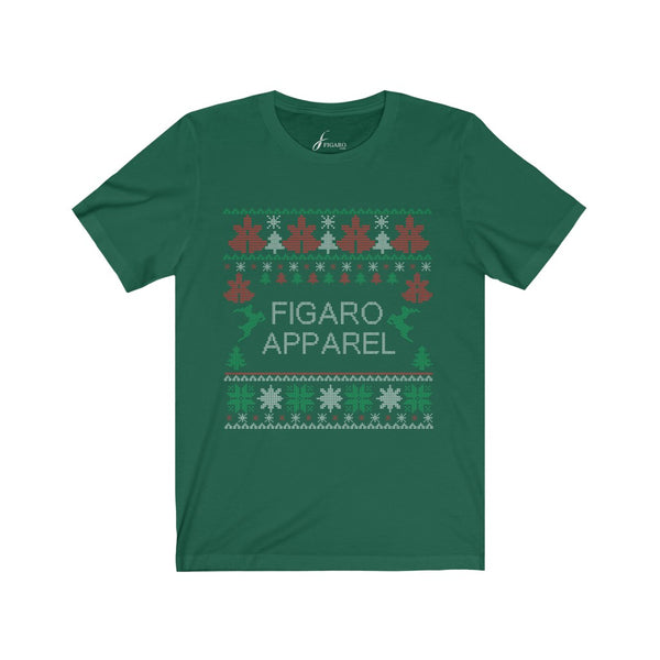 Unisex FIGARO Holiday Short Sleeve Tee