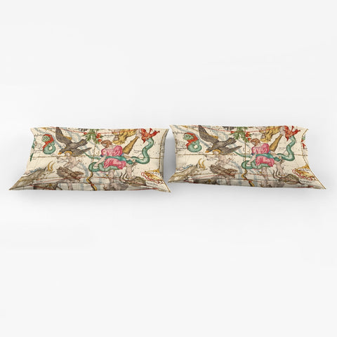 stars maps animals King Pillow Case