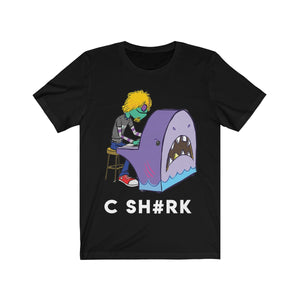 Rudy Rock Shark Unisex Jersey Short Sleeve Tee