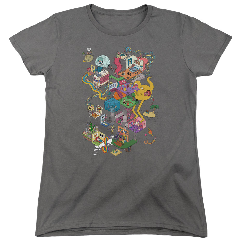 Uncle Grandpa - Inside The Rv Short Sleeve Women's Tee