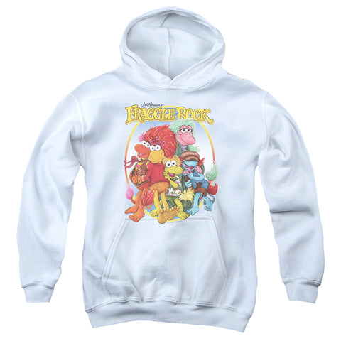 Fraggle Rock - Group Hug Youth Pull Over Hoodie