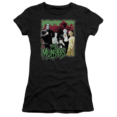 The Munsters - Normal Family Short Sleeve Junior Sheer