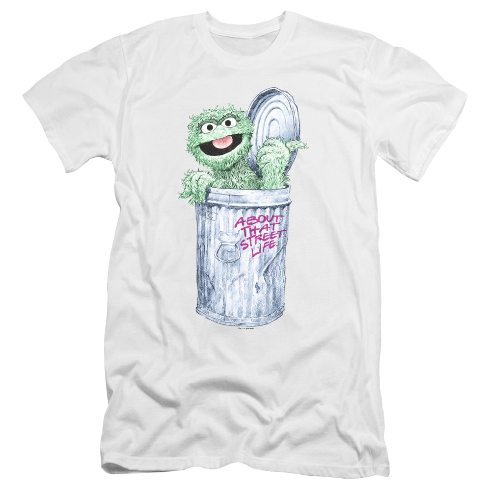 Sesame Street - About That Street Life Premium Canvas Adult Slim Fit 30/1