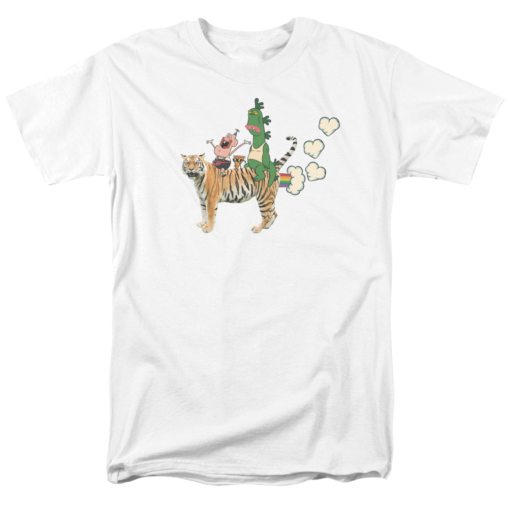 Uncle Grandpa - Fart Hearts Short Sleeve Adult 18/1