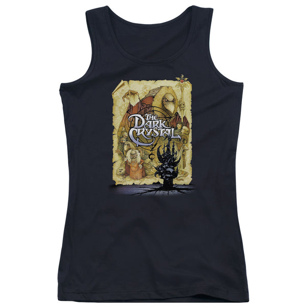 Dark Crystal - Poster Juniors Tank Top