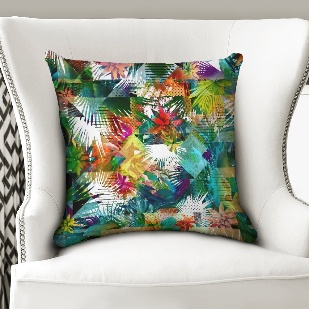"Flolige Throw Pillow Case 18""x18"""
