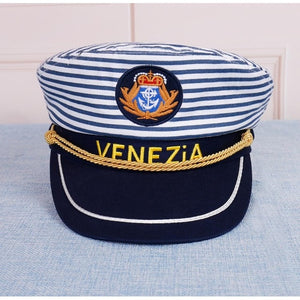 FIGARO Stripe Military Cap