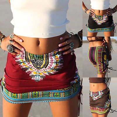 FIGARO Dashiki Pencil Skirt