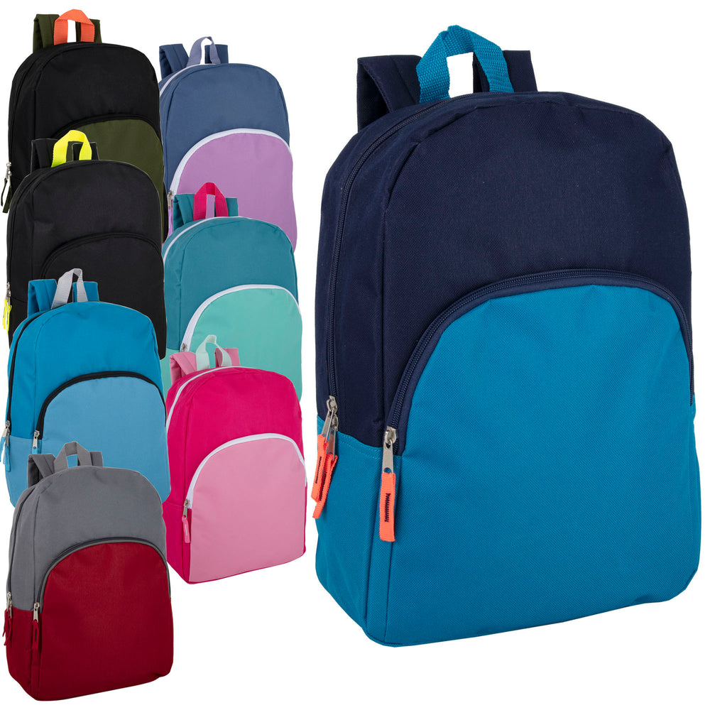 Wholesale 38cm Promo Backpack 15L Capacity - 8 Colour Assortment