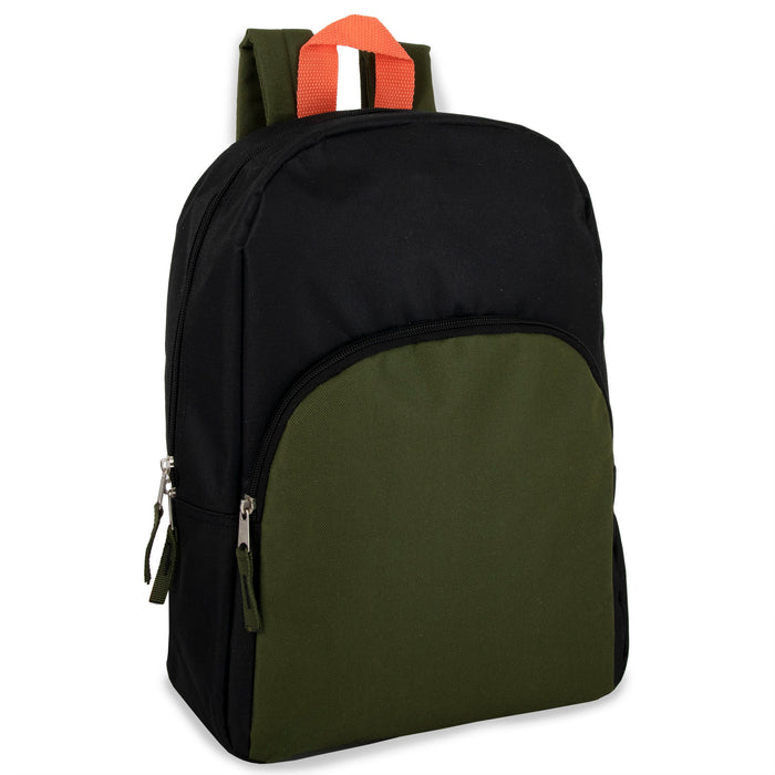 Wholesale 38cm Promo Backpack 15L Capacity - 5 Colour Assortment