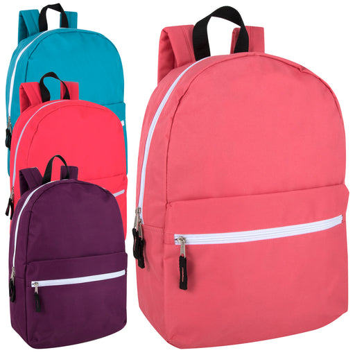 Wholesale 43cm Classic Backpack 20L Capacity - Girls Assortment