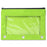 Wholesale 3 Ring Binder Pencil Case with Window - Assorted Colors -