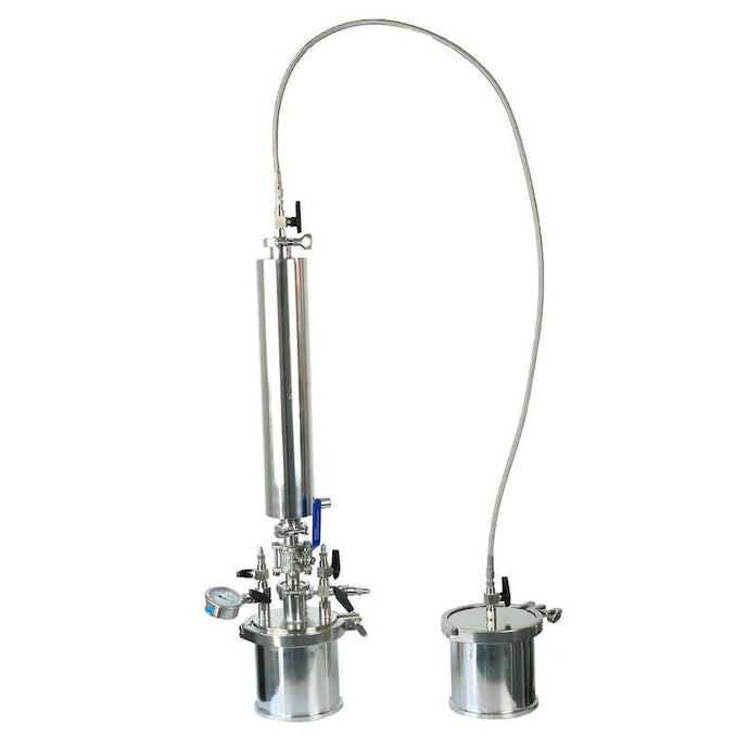 Bho active closed loop system in 304 stainless steel with dewax column