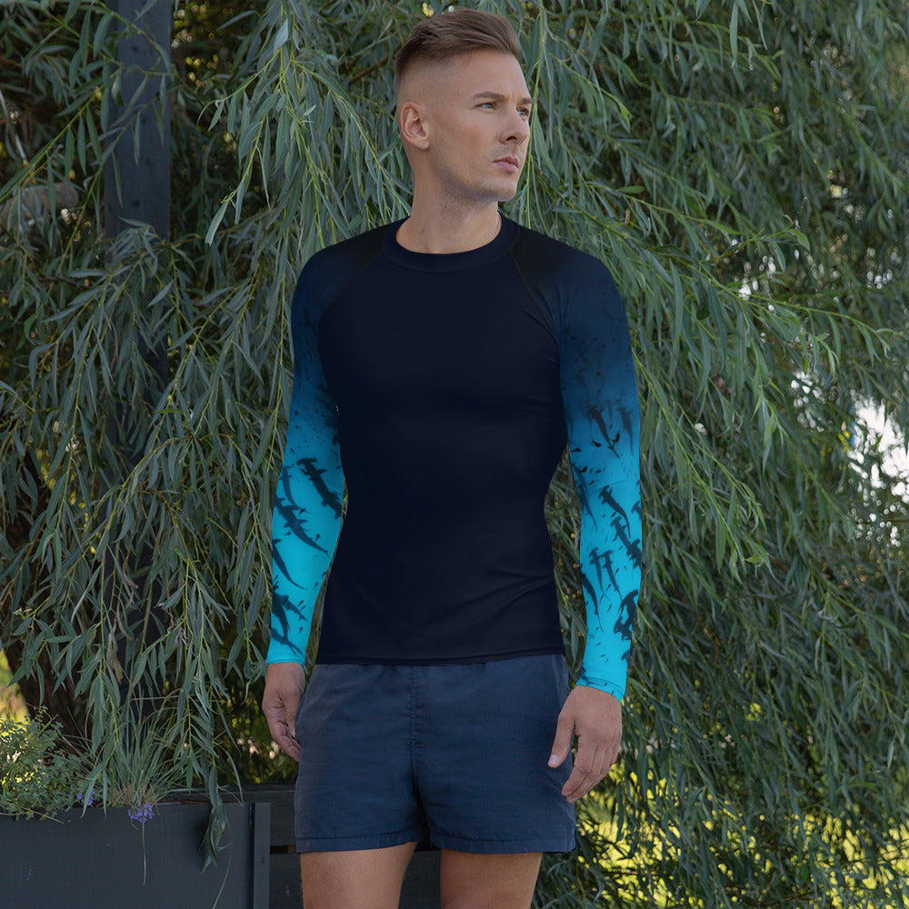 Hammerhead Shark Men's Rash Guard
