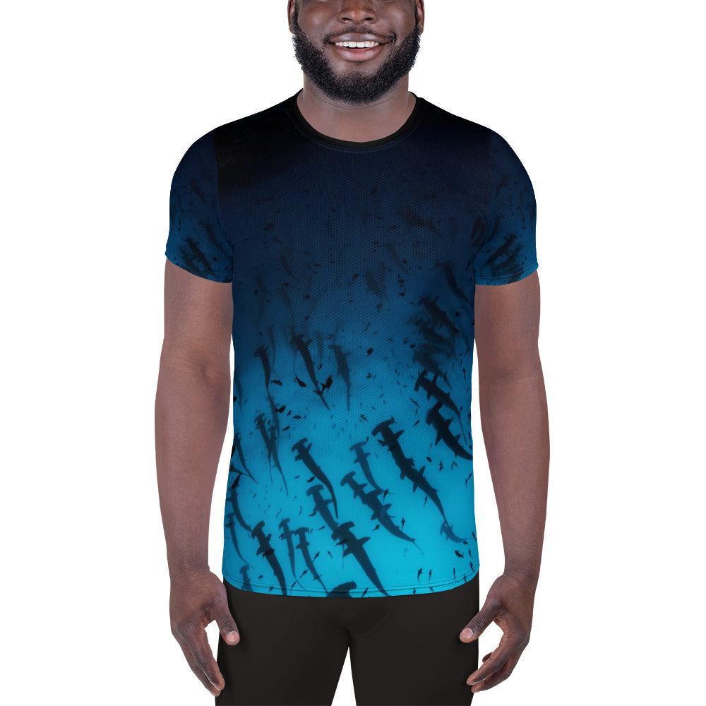 Galapagos Hammerhead Athletic T-shirt