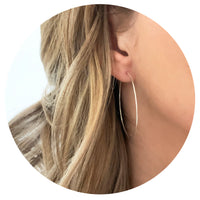 Superfine Hoops - 45mm Large