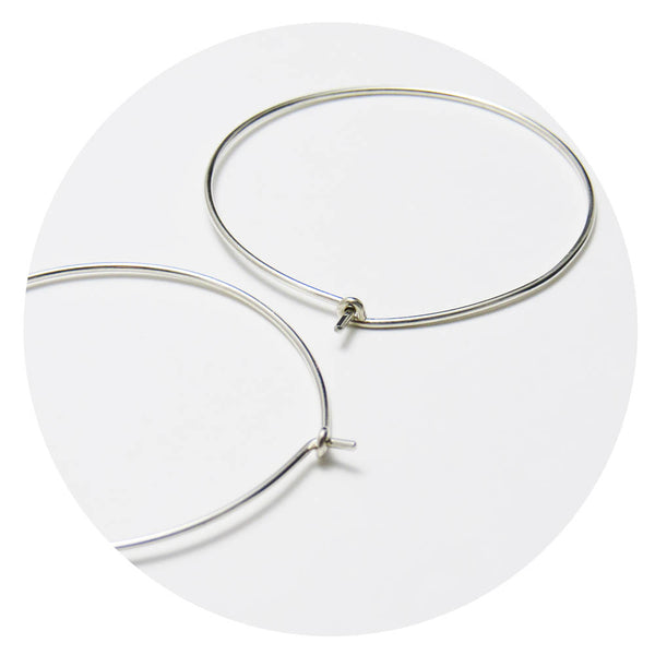 Superfine Hoops - 60mm Extra Large