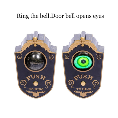 Big Spooky Animated Eyeball Doorbell