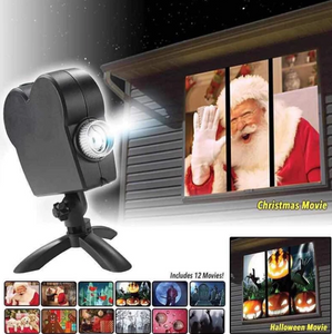Winter Wonderland Window Projector