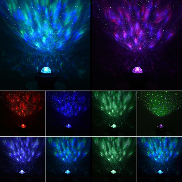 Galaxy Projector Star Night Light