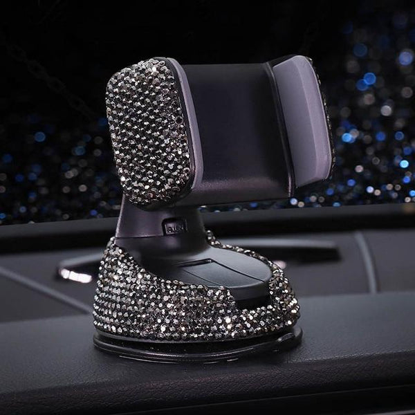 GLITTER CAR PHONE HOLDER