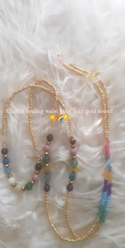 Chakra Mermaid Natural Stone Waistbeads