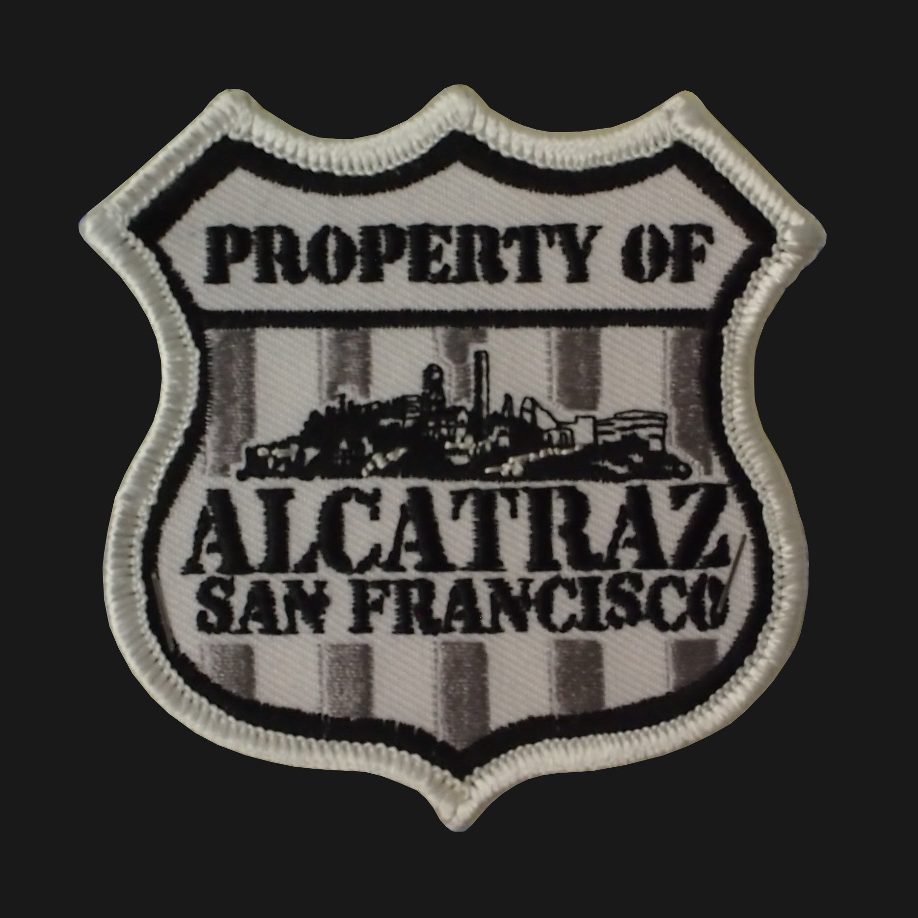 Alcatraz Shield Patch