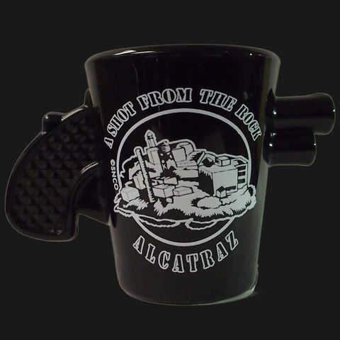 The Rock Gun Shotglass