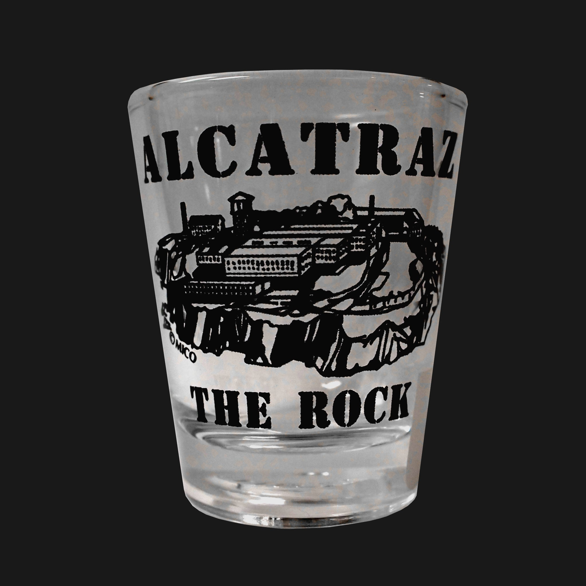 The Rock Shotglass