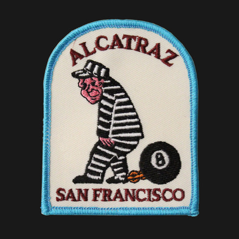 Alcatraz Inmate Patch