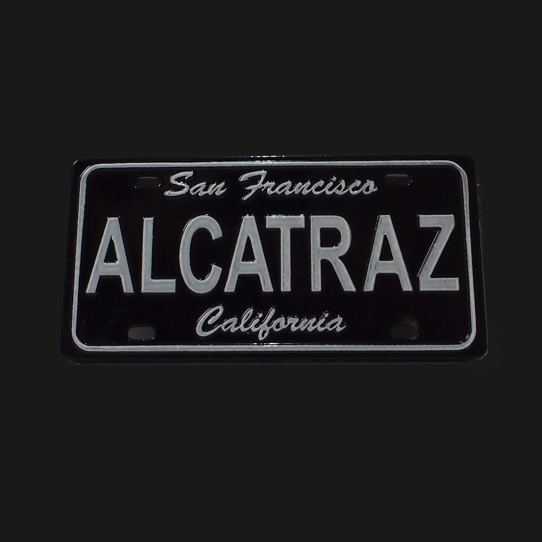 Alcatraz License Plate Magnet
