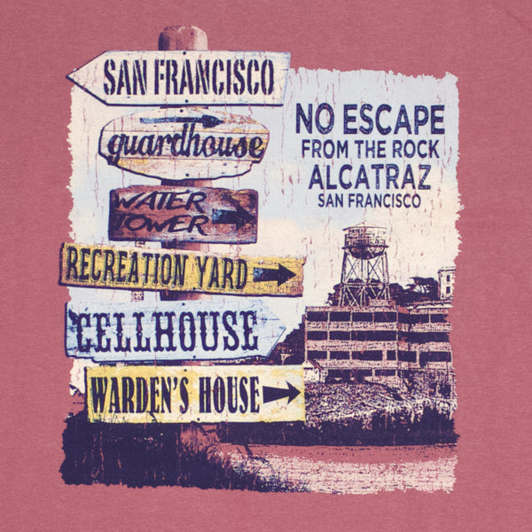 Alcatraz Signs T-Shirt