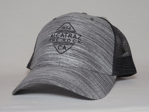 "Alcatraz ""The Rock"" Mesh Trucker Cap"