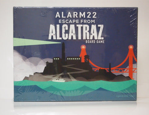 Escape from Alcatraz Board Game