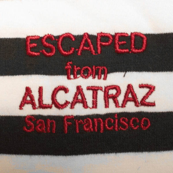 Alcatraz Black & White V-Neck