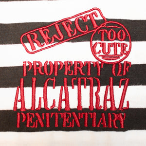 Adult Alcatraz Black & White T-Shirt