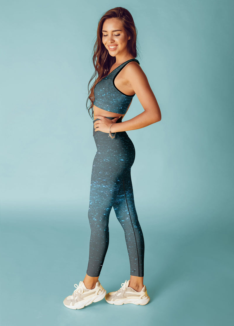 Blue Galaxy Fitness Set