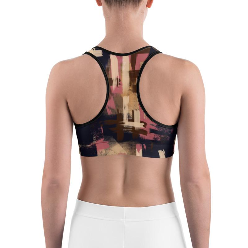 Brush Art Sports Bra