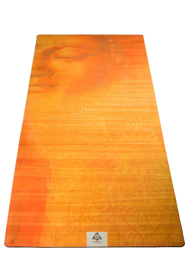 Peaceful buddha yoga mat