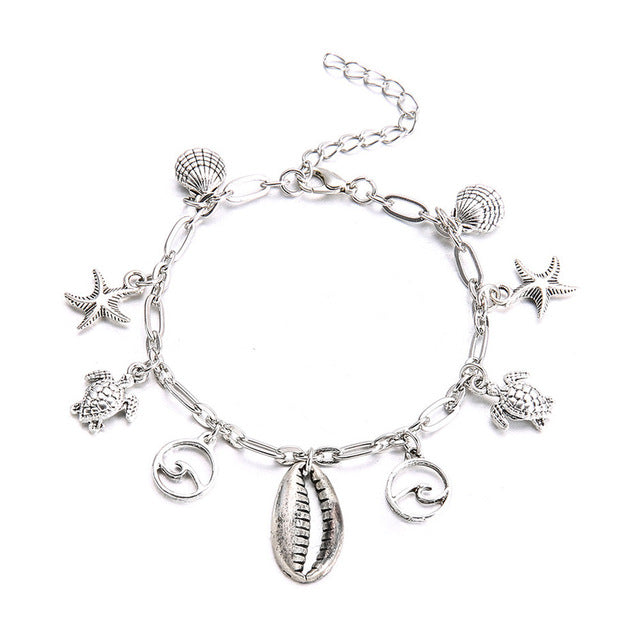 Chain Anklet Jewelry Beach Section