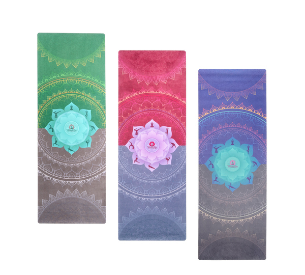 MY Soulful Yoga Mat Trio (3 mats)