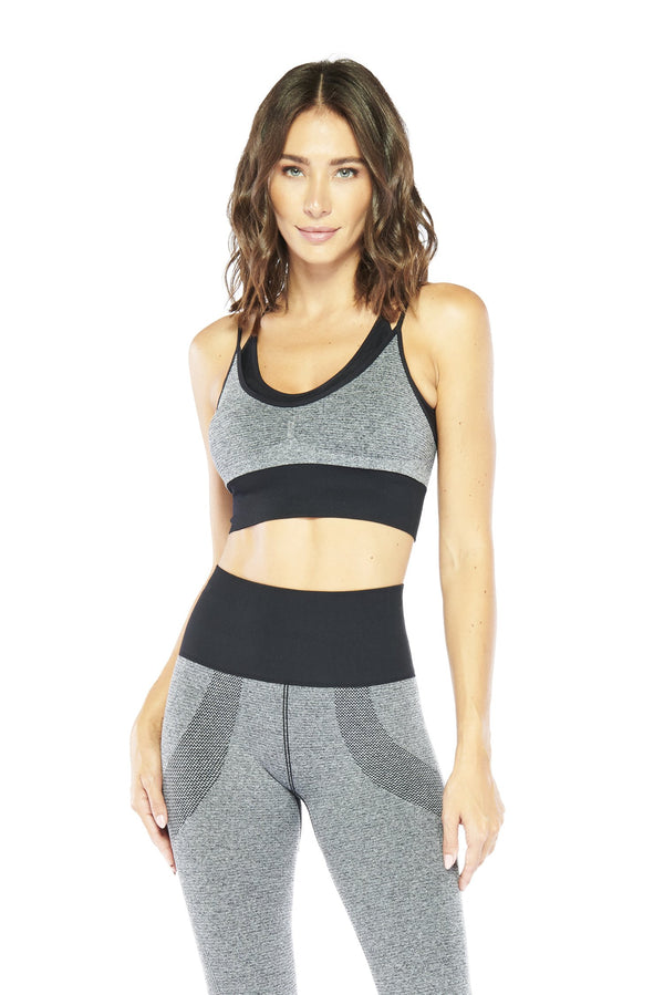 Ribbed Controlled Sports Bra