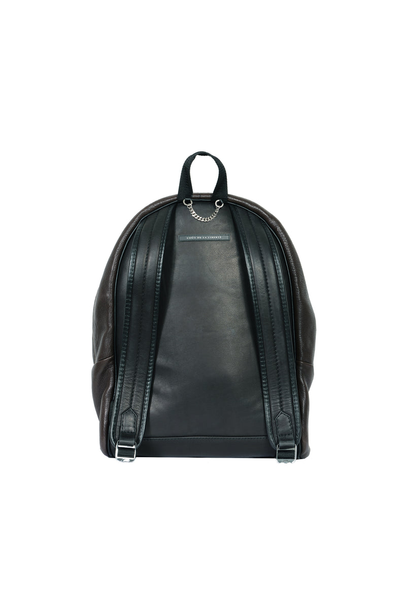 Caravaggio Lambskin Backpack Chocolate