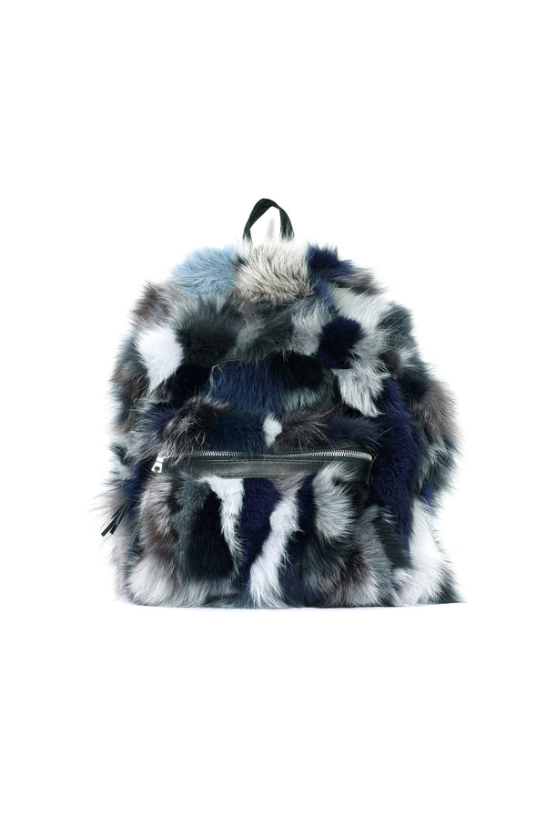 Fox Backpack Grey / Blue