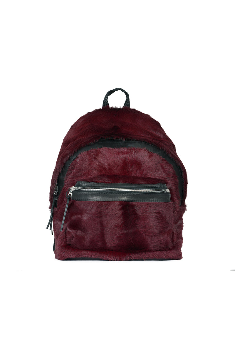 Long Hair Cow Backpack Port