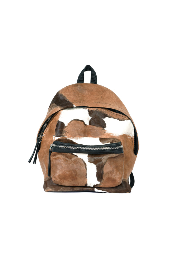Pontos Backpack Multi Brown / Ivory