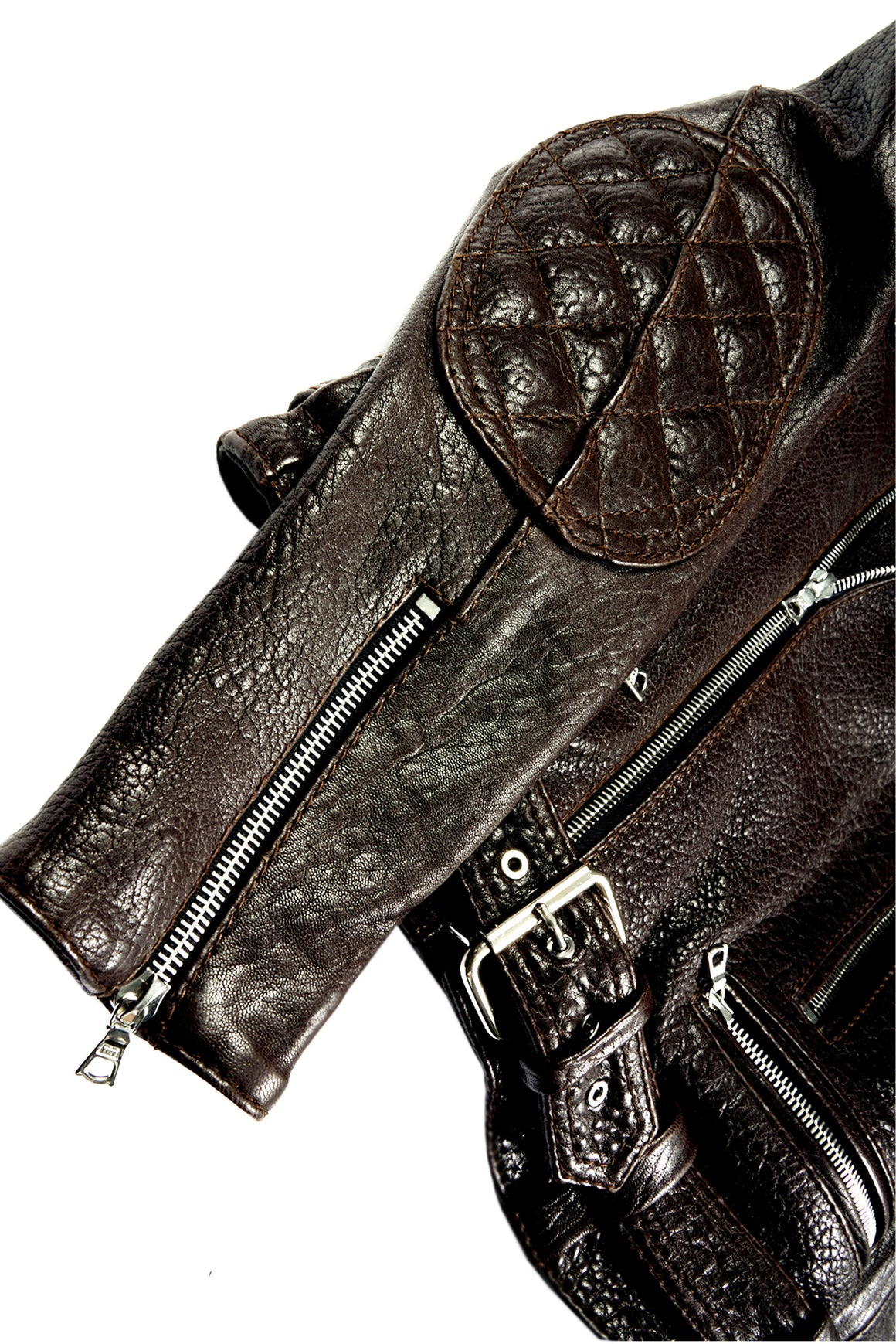 Caravaggio Moto Jacket Chocolate