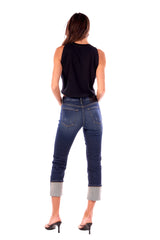 Hailey/ Stretch Denim Boy Girl Selvage Jean Redford