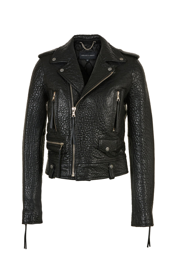 Cindy/ Caravaggio Moto Jacket Black