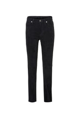 Claudia/ Stretch Suede Skinny Pant Black